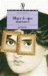 Mujer de ojos marrones