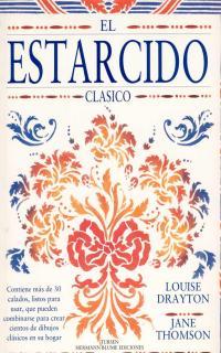 EL ESTARCIDO CLÁSICO: CONTIENE MÁS DE 30 CALADOS, LISTOS PARA USAR, QU
