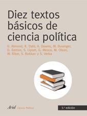 DIEZ TEXTOS BÁSICOS DE CIENCIA POLÍTICA.