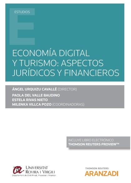 ECONOMIA DIGITAL Y TURISMO ASPECTOS JURIDICOS FINANCIEROS