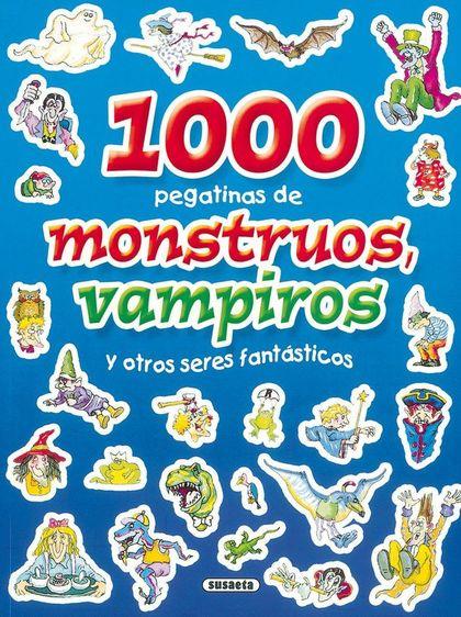 1000 PEGATINAS CUENTO DE MONSTRUOS, VAMPIROS