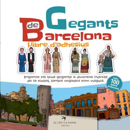 GEGANTS DE BARCELONA. LLIBRE D´ADHESIUS