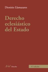 DERECHO ECLESIASTICO DEL ESTAD.