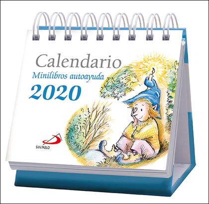 CALENDARIO MESA MINILIBROS AUTOAYUDA 2020.