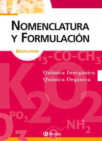 NOMENCLATURA Y FORMULACIÓN, BACHILLERATO