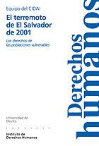 EL TERREMOTO DE EL SALVADOR DE 2001: LOS DERECHOS DE LAS POBLACIONES V