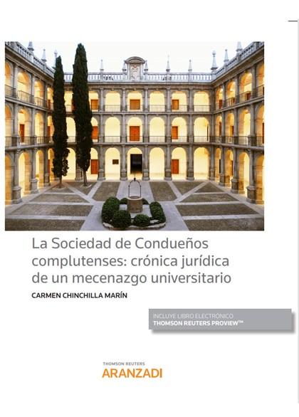 SOCIEDAD DE CONDUEÑOS COMPLUTENSES CRONICA JURIDICA MECENAZ.