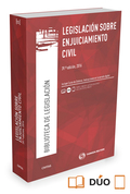 LEGISLACIÓN SOBRE ENJUICIAMIENTO CIVIL (PAPEL+E-BOOK).