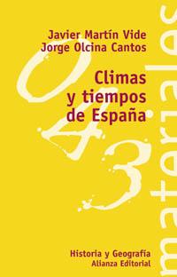Tiempos y climas de España