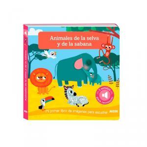 ANIMALES DE LA SELVA Y DE LA SABANA.