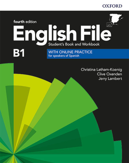 ENGLISH FILE INTERMEDIATE STUDENTS BOOK AND WORKBOOK KEY WITH ONLINE PRACTICE FO