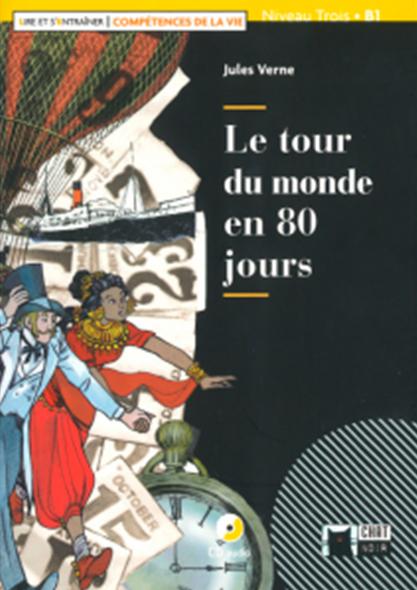 LE TOUR DU MONDE EN 80 JOURS+CD L&E COMP VIE.
