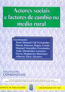 ACTORES SOCIAIS E FACTORES DE CAMBIO NO MEDIO RURAL