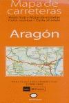 ARAGÓN, MAPA DE CARRETERAS, E 1:300.000