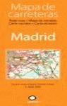 MADRID, MAPA DE CARRETERAS, E 1:300.000