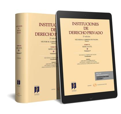 INSTITUCIONES DE DERECHO PRIVADO. TOMO VI MERCANTIL. VOLUMEN 2º (PAPEL + E-BOOK)