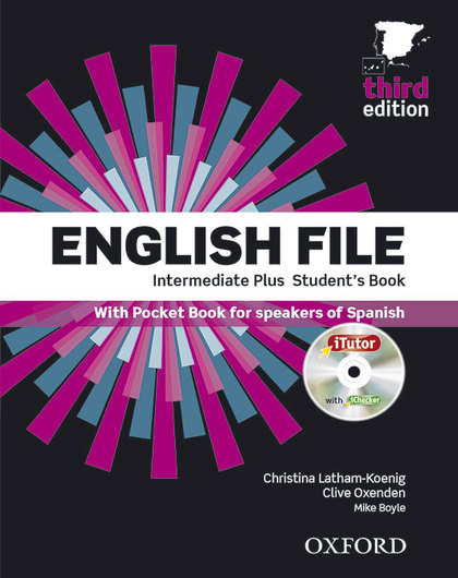 ENGLISH FILE INT PLUS SB+ITUTO+PB PK 3ED