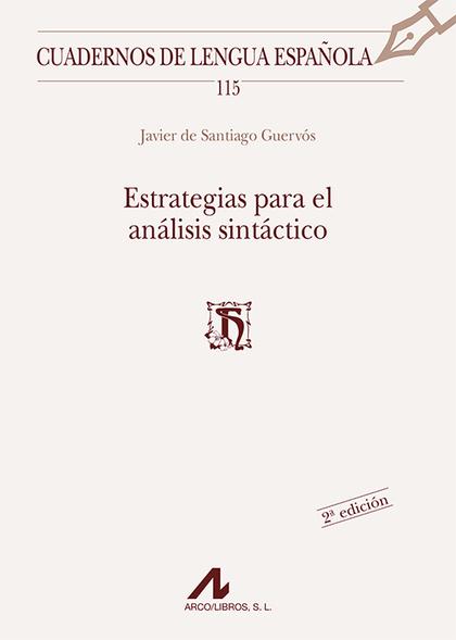 ESTRATEGIAS PARA EL ANÁLISIS SINTÁCTICO