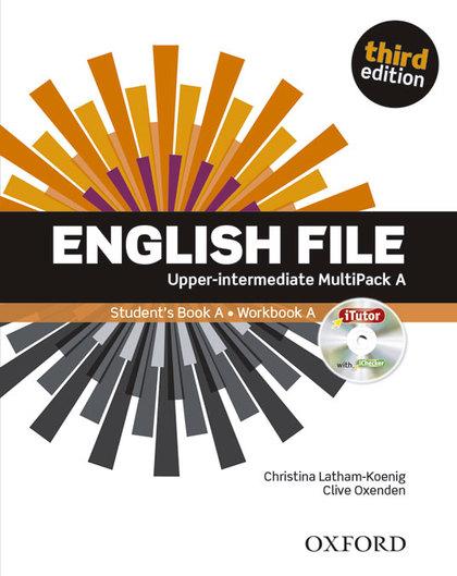 ENGLISH FILE UPPER INTERMEDIATE MULTIPACK A 3 EDITION