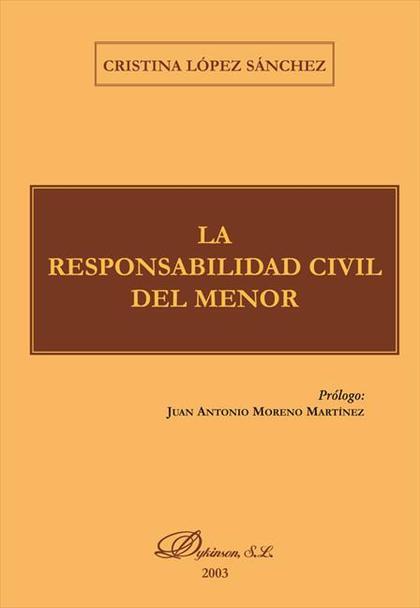 La responsabilidad civil del menor
