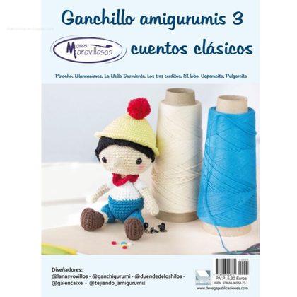 GANCHILLO AMIGURUMI 3. CUENTOS CLÁSICOS