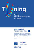 TUNING EDUCATIONAL STRUCTURES IN EUROPE (CASTELLANO).