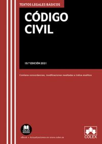 CÓDIGO CIVIL                                                                    TEXTO LEGAL BÁS