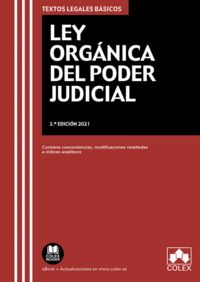 LEY ORGÁNICA DEL PODER JUDICIAL                                                 CONTIENE CONCOR