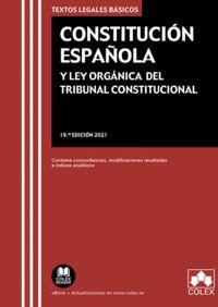CONSTITUCIÓN ESPAÑOLA Y LEY ORGÁNICA DEL TRIBUNAL CONSTITUCIONAL                CONTIENE CONCOR