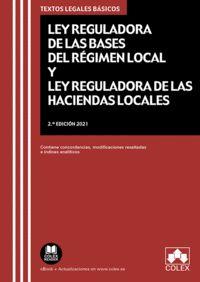 CÓDIGO DE BASES DE RÉGIMEN LOCAL Y DE HACIENDAS LOCALES                         LEY DE BASES DE