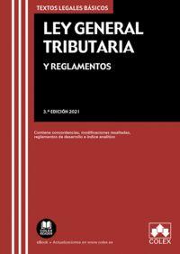 LEY GENERAL TRIBUTARIA Y REGLAMENTOS                                            CONTIENE CONCOR