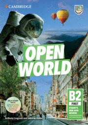 OPEN WORLD FIRST. SELF STUDY PACK (SB W ANSWERS W ONLINE PRACTICE AND WB W ANSWE