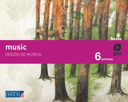MUSIC. 6 PRIMARY. SAVIA. REGIÓN DE MURCIA.