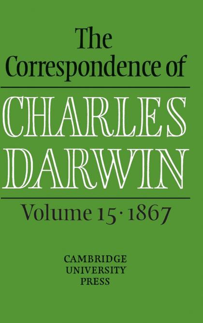 CORRESPONDENCE CHARLES DARWIN V15