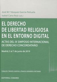 DERECHO DE LIBERTAD RELIGIOSA EN EL ENTORNO DIGITAL.