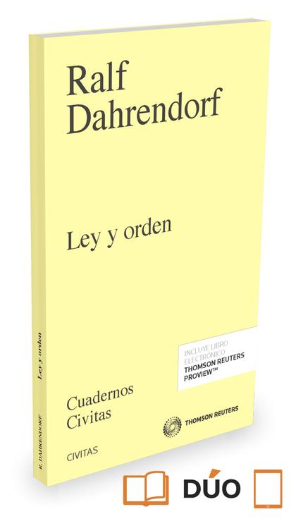 LEY Y ORDEN (PAPEL+E-BOOK).