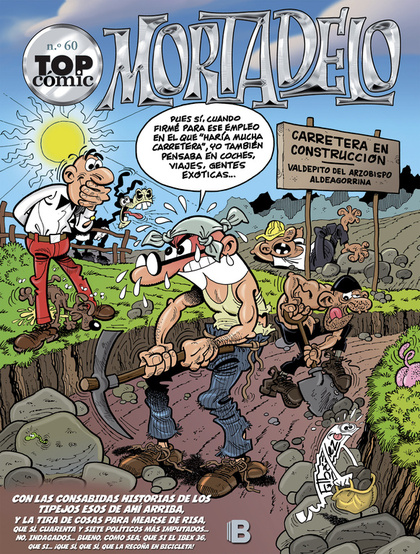 TOP CÓMIC MORTADELO 60, LA RUTA DEL YERBAJO