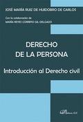 DERECHO DE LA PERSONA                                                           INTRODUCCIÓN AL