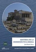 HISTORIA DE LA HERMENÉUTICA GRIEGA.
