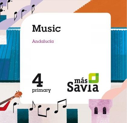 SD ALUMNO. MUSIC. 4 PRIMARY. MÁS SAVIA. ANDALUCÍA.