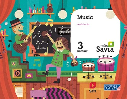 SD ALUMNO. MUSIC. 3 PRIMARY. MÁS SAVIA. ANDALUCÍA