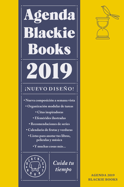 AGENDA BLACKIE BOOKS 2019. CUIDA TU TIEMPO