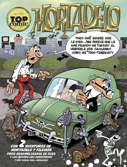 TOP COMIC MORTADELO 61 (LIB)