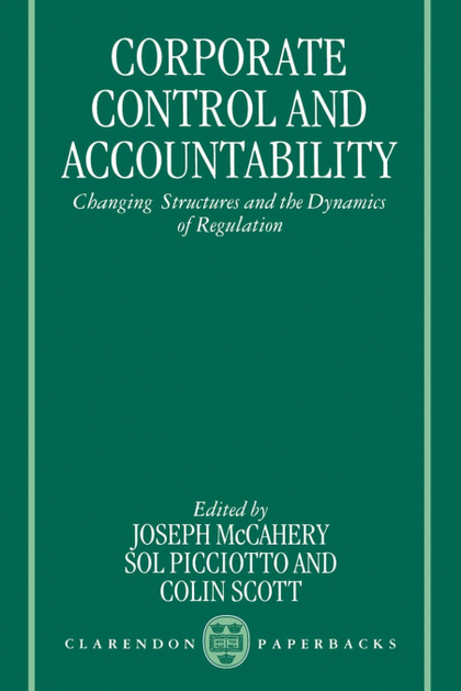 CORPORATE CONTROL AND ACCOUNTABILITY