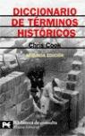 Diccionario de términos históricos