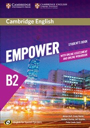 CAMBRIDGE ENGLISH EMPOWER FOR SPANISH SPEAKERS B2 STUDENT´S BOOK WITH ONLINE ASS.