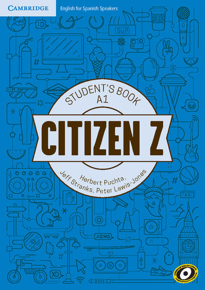 CITIZEN Z A1 STUDENT´S BOOK WITH AUGMENTED REALITY.