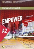 CAMBRIDGE ENGLISH EMPOWER FOR SPANISH SPEAKERS, A2. STUDENT´S BOOK