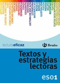 TEXTOS Y ESTRATEGIAS LECTORAS, 1 ESO. CUADERNO