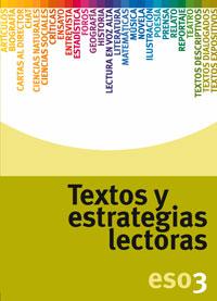TEXTOS Y ESTRATEGIAS LECTORAS, 3 ESO. CUADERNO
